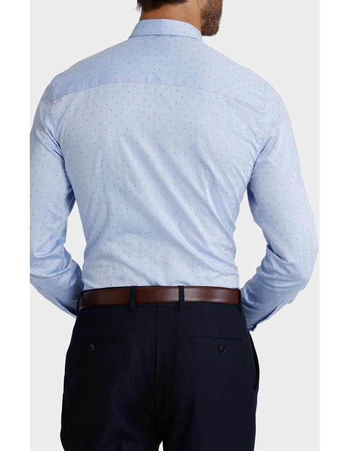 Dot Herringbone Business Shirt image 3