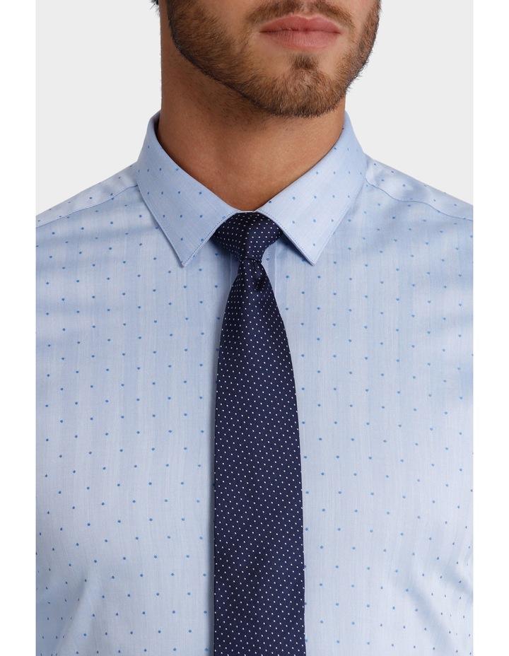 Dot Herringbone Business Shirt image 4