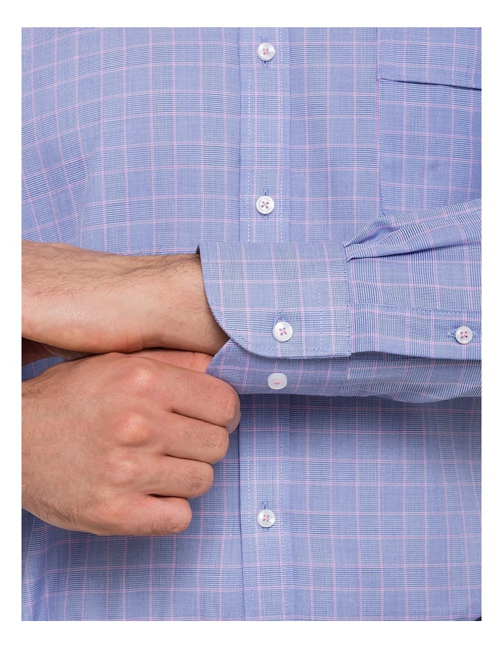 Check Business Shirt image 5
