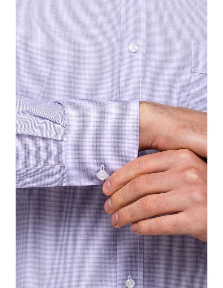 Grey Spot Business Shirt image 3