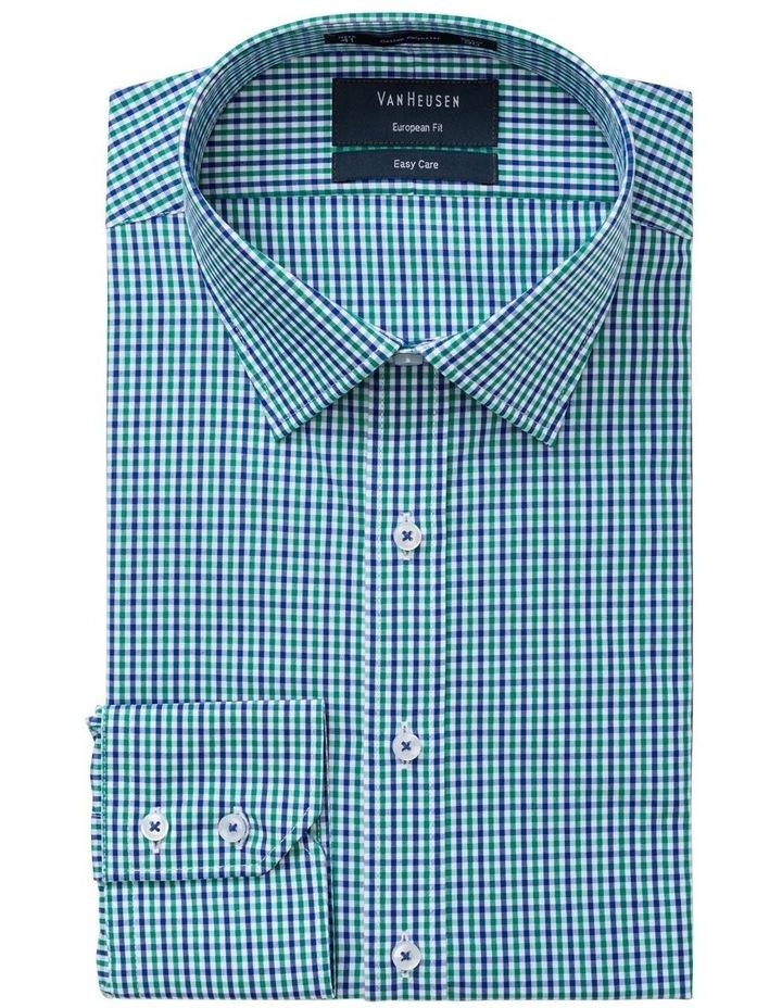 Green Check Business Shirt image 2