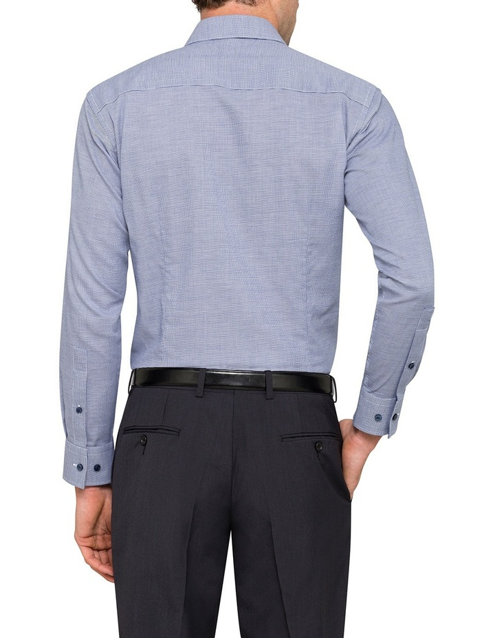 Cnvb Navy Check Business Shirt image 3