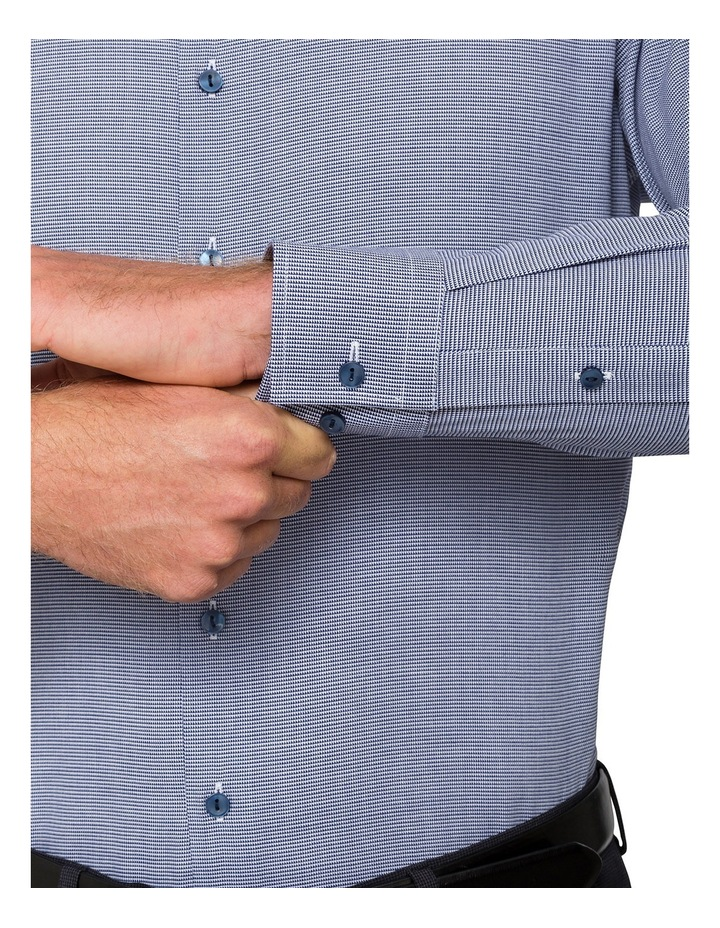 Cnvb Navy Check Business Shirt image 5