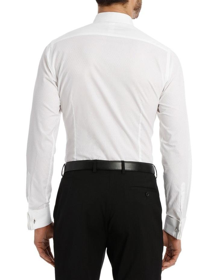 Harris Self Dot White Business Shirt image 6