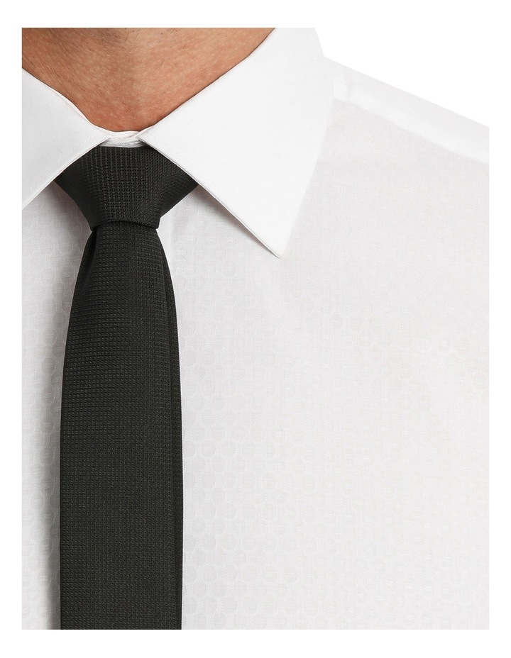 Harris Self Dot White Business Shirt image 7