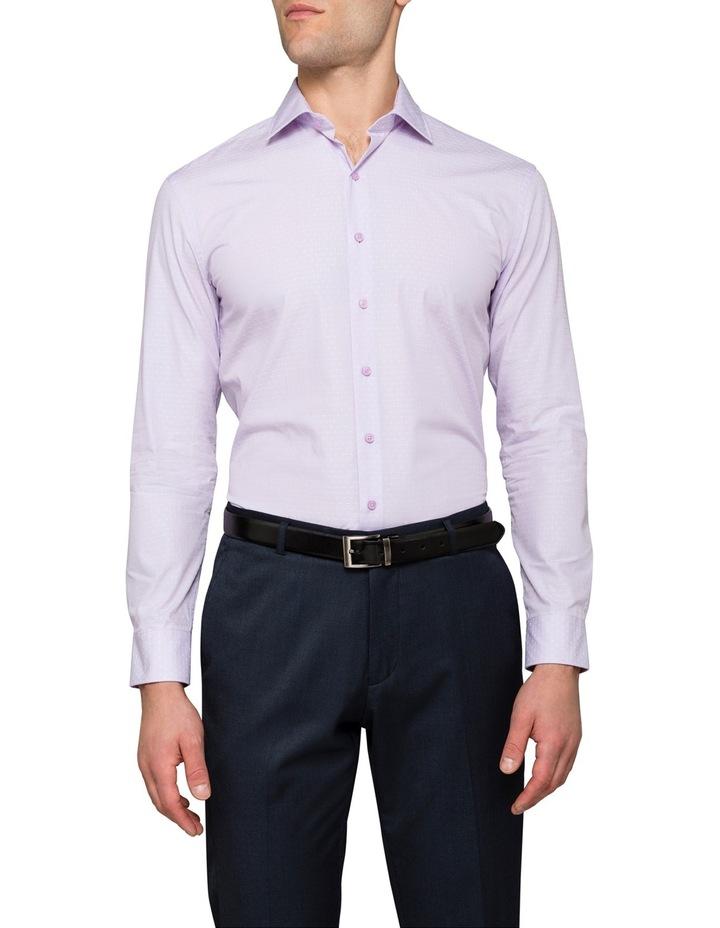 Lilac Stripe Business Shirt image 1