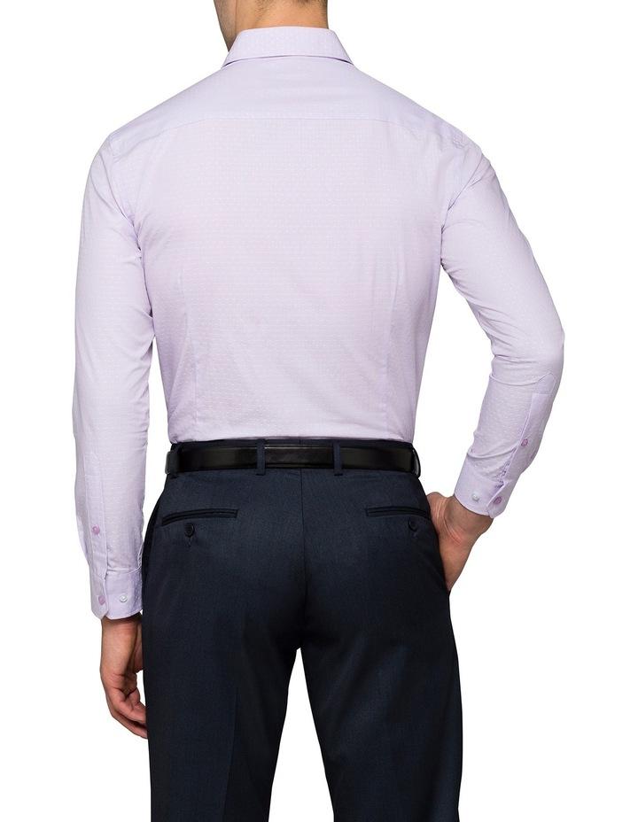 Lilac Stripe Business Shirt image 2