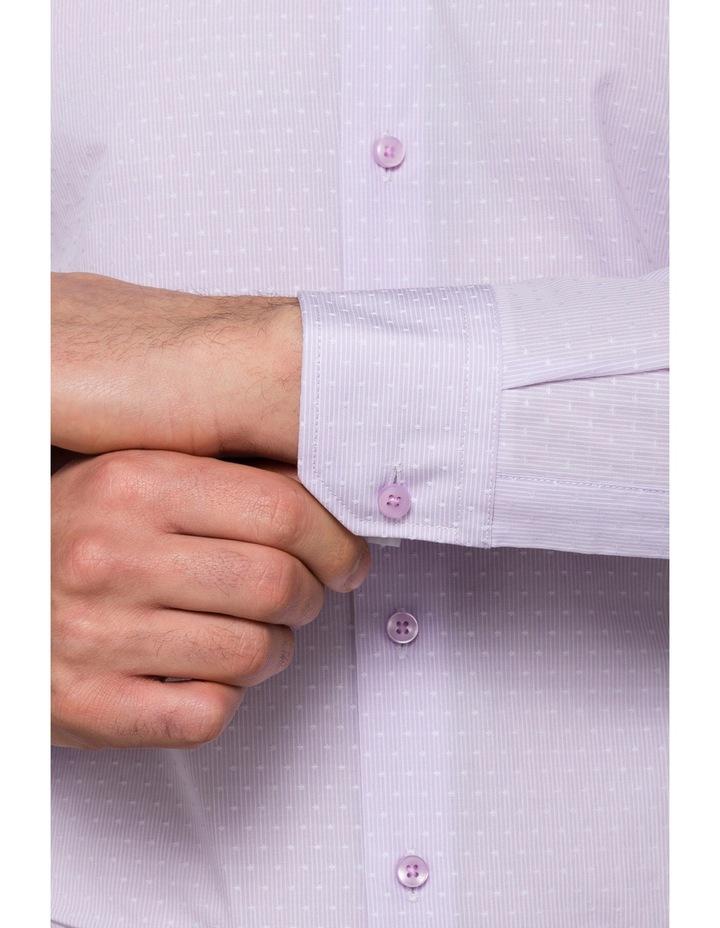 Lilac Stripe Business Shirt image 3