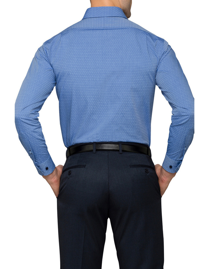 Blue Dobby Business Shirt image 2