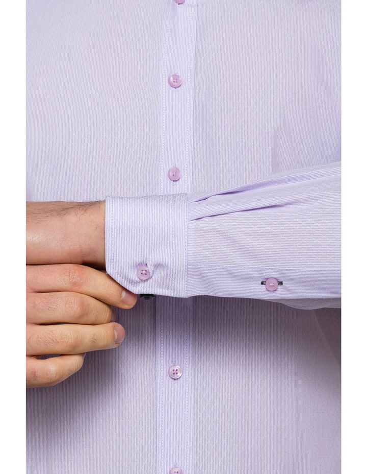 Lilac Dobby Business Shirt image 3