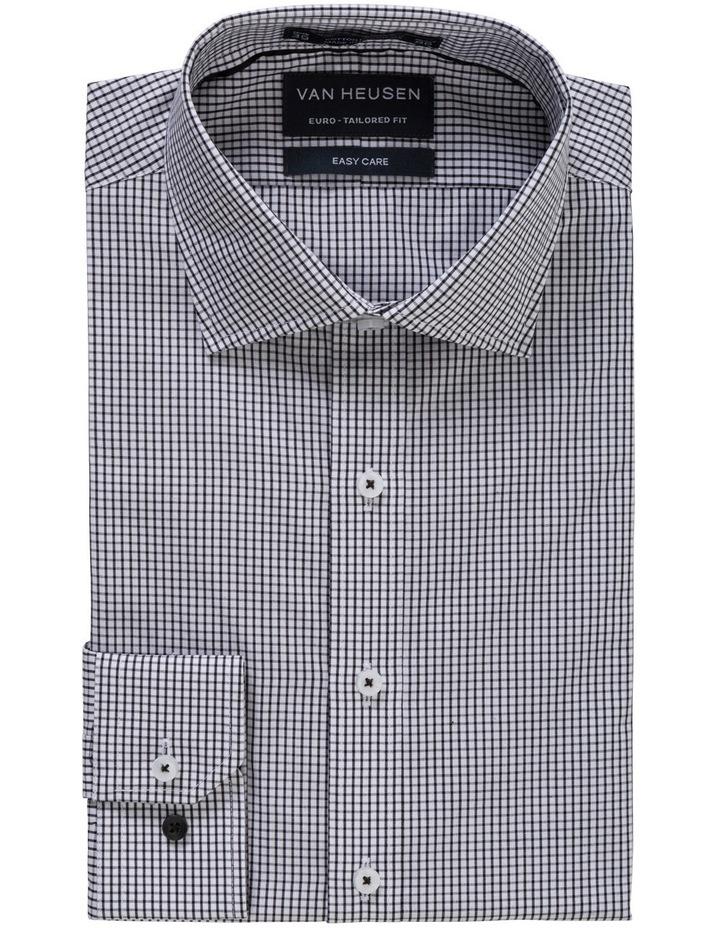 Black Check Business Shirt image 1
