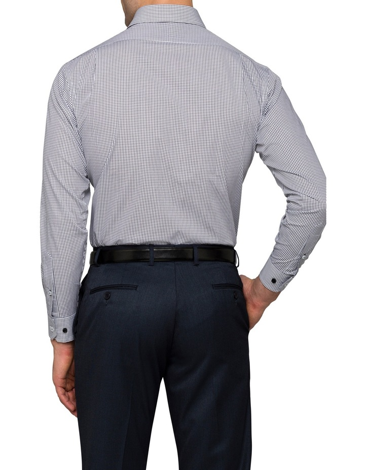 Black Check Business Shirt image 2