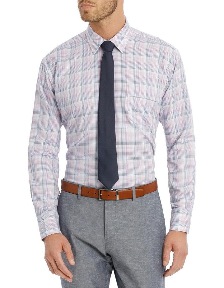 Lilac Check Business Shirt image 1