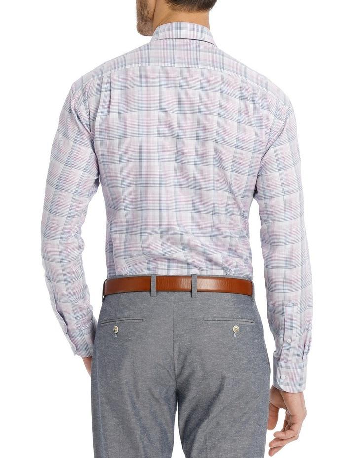 Lilac Check Business Shirt image 3