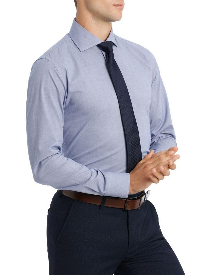 Wolf Kanat 5wks715 Blue & Berry Print Business Shirt / Blue image 2