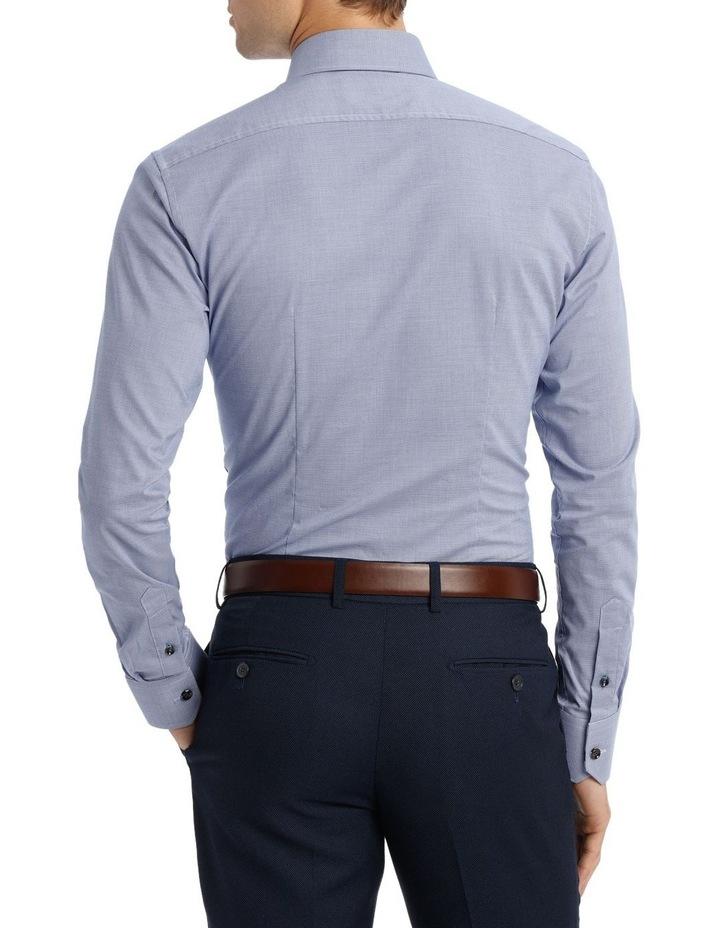 Wolf Kanat 5wks715 Blue & Berry Print Business Shirt / Blue image 3