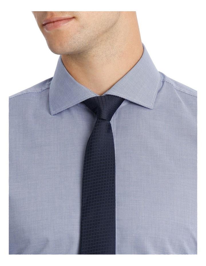 Wolf Kanat 5wks715 Blue & Berry Print Business Shirt / Blue image 4