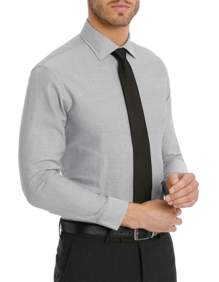 Van Heusen Slim Fit Grey Dobby Business Shirt image 2