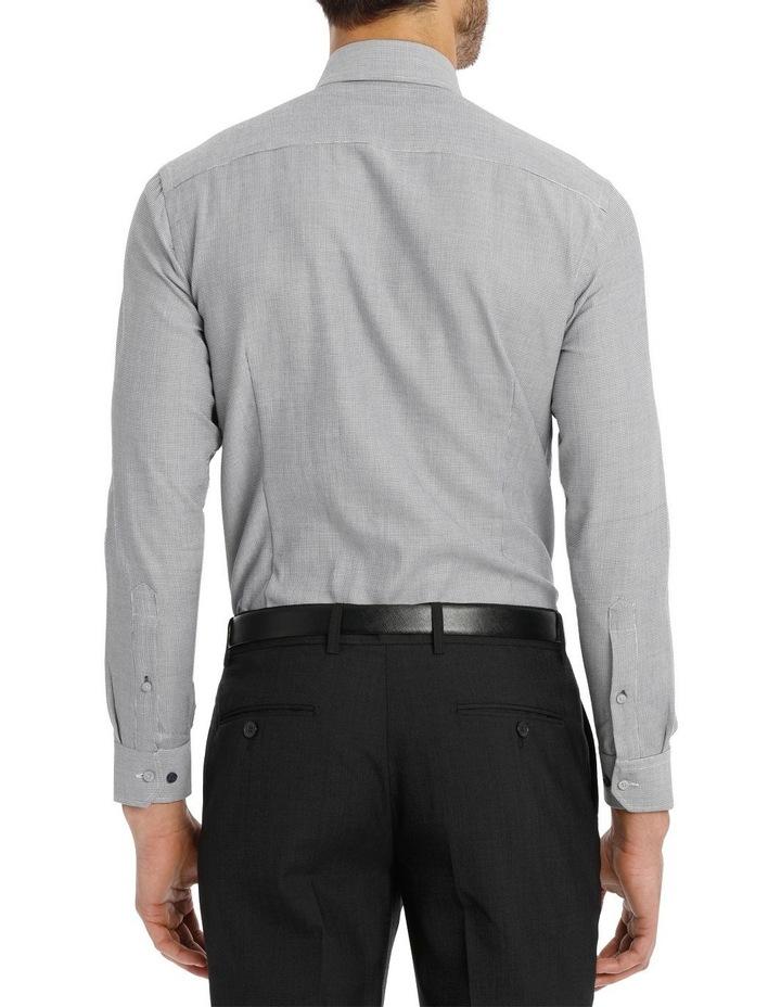 Van Heusen Slim Fit Grey Dobby Business Shirt image 3