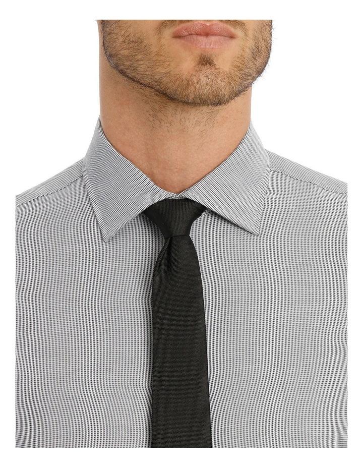 Van Heusen Slim Fit Grey Dobby Business Shirt image 4