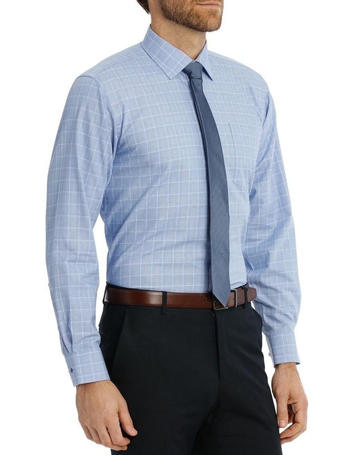 Caine Check Blue Business Shirt image 2