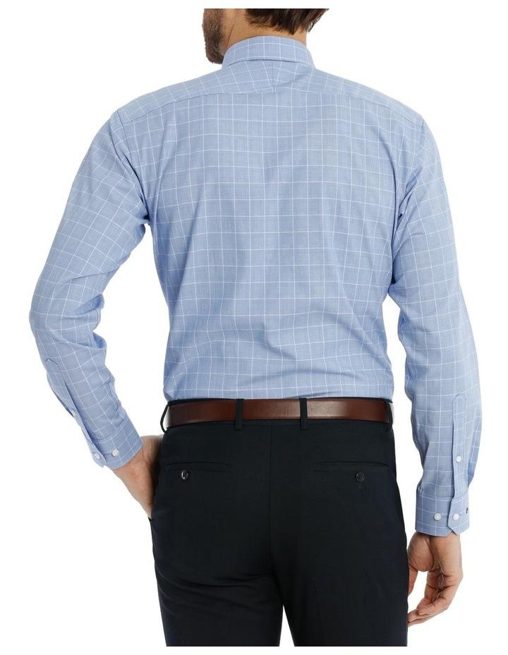 Caine Check Blue Business Shirt image 3