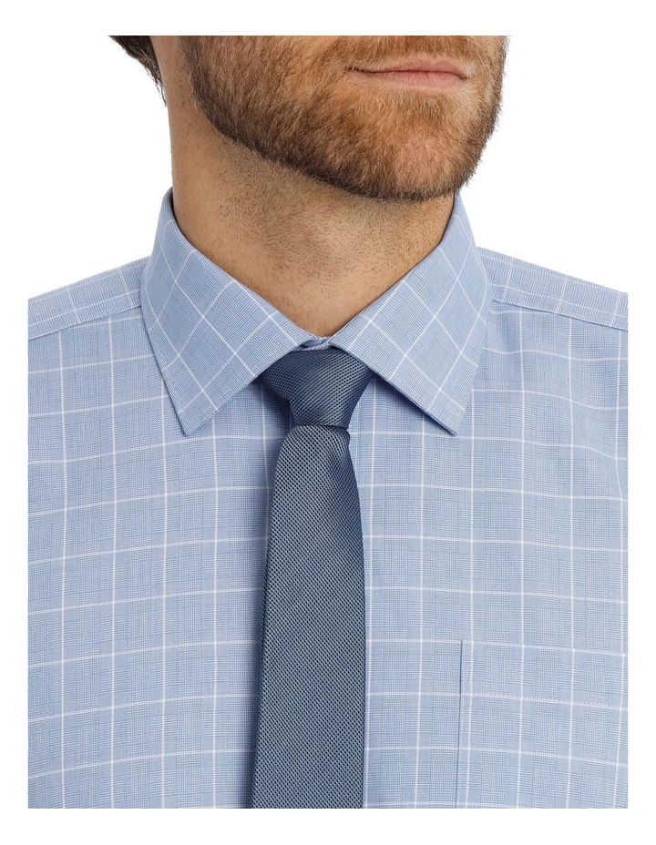 Caine Check Blue Business Shirt image 4