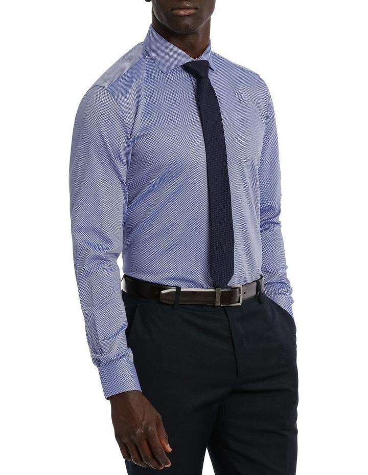 Callow Dobby Blue Business Shirt image 2