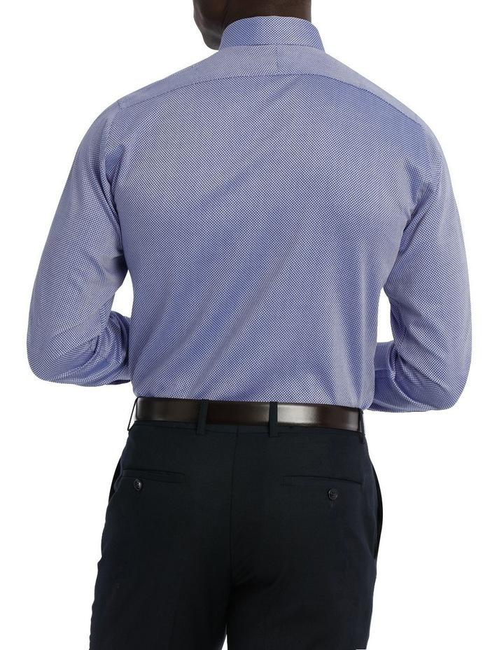 Callow Dobby Blue Business Shirt image 3