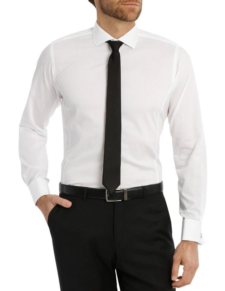 Day-Lewis Dobby White Business Shirt image 1