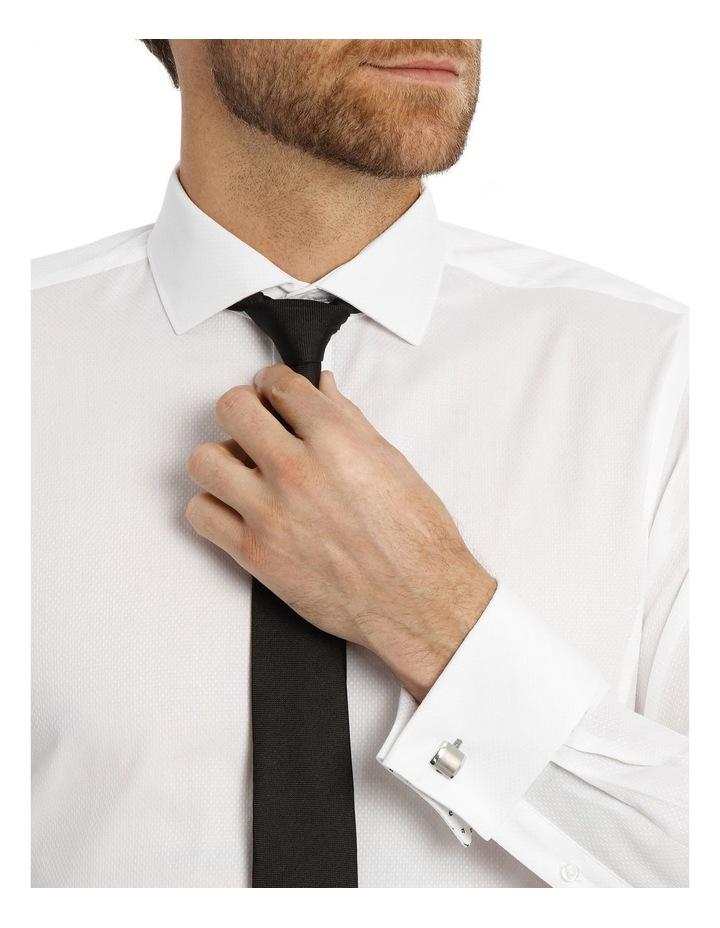 Day-Lewis Dobby White Business Shirt image 4