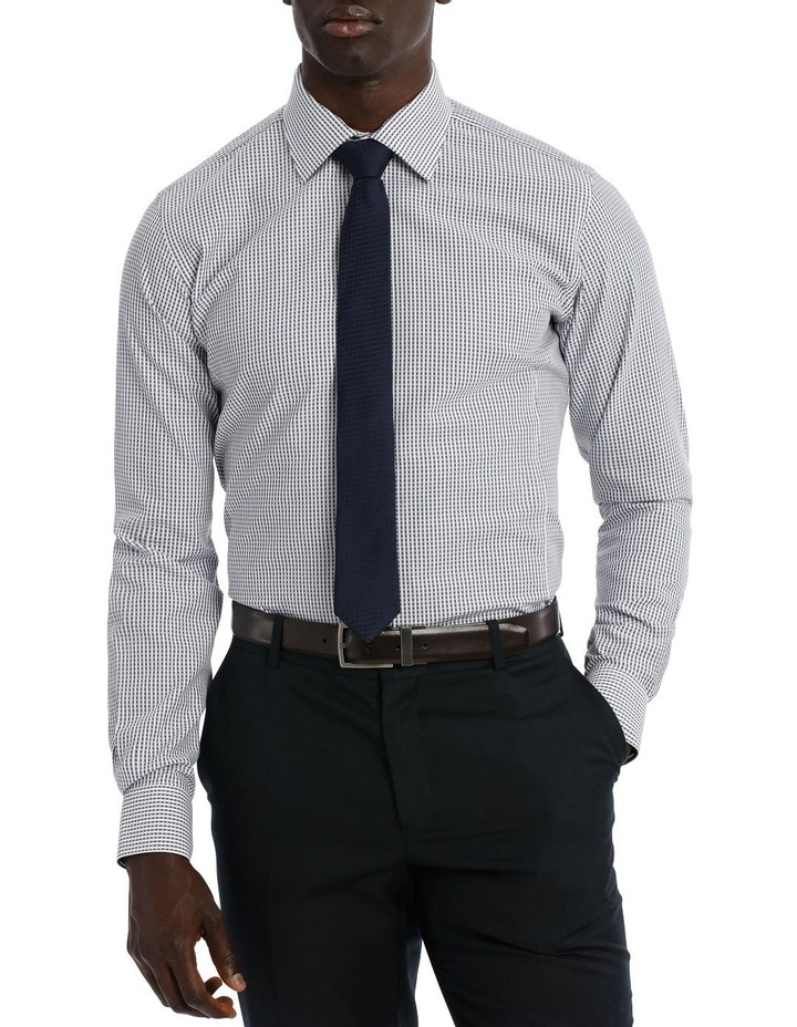 Kingsley Check Navy Business Shirt image 1