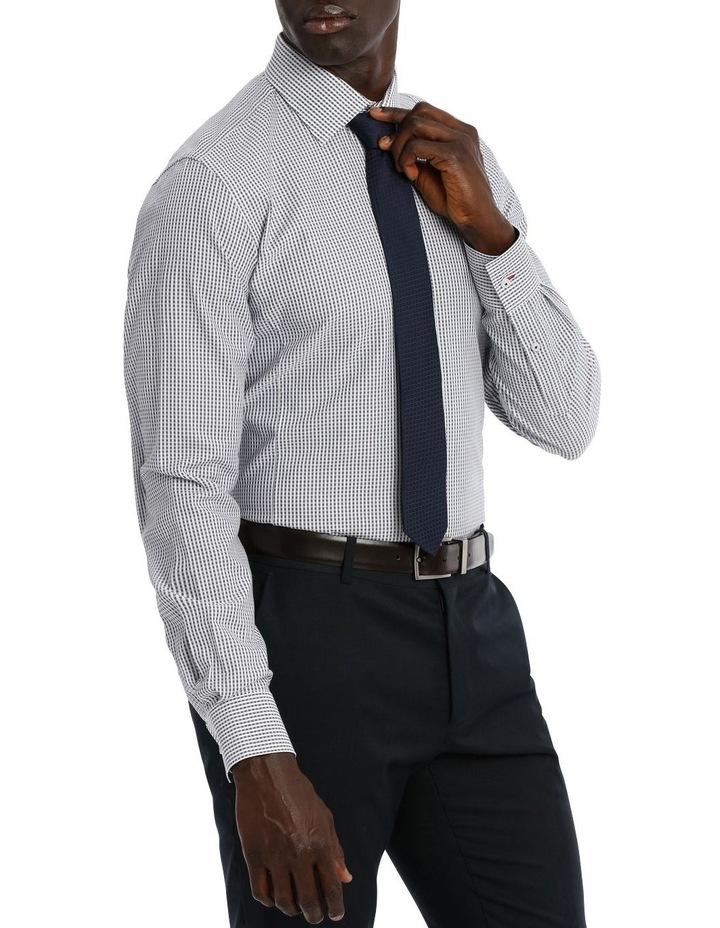 Kingsley Check Navy Business Shirt image 2