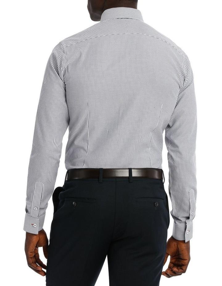 Kingsley Check Navy Business Shirt image 3