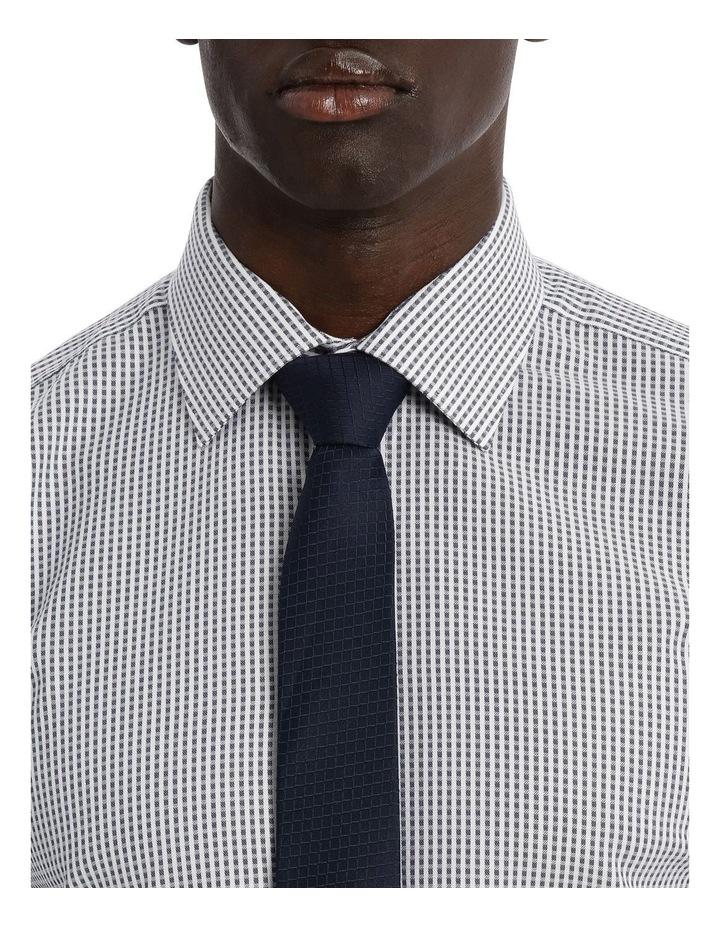 Kingsley Check Navy Business Shirt image 4