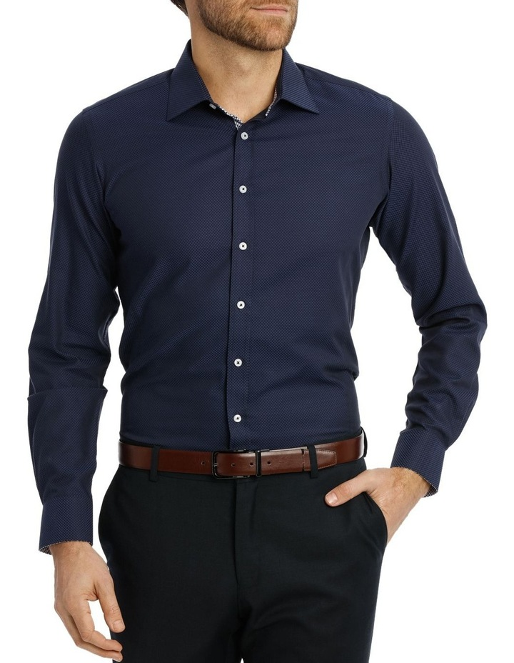 Coogan Dobby Spot Ink Business Shirt image 1