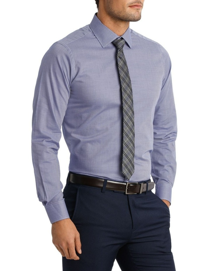 D'arby Micro Check Royal Business Shirt image 2
