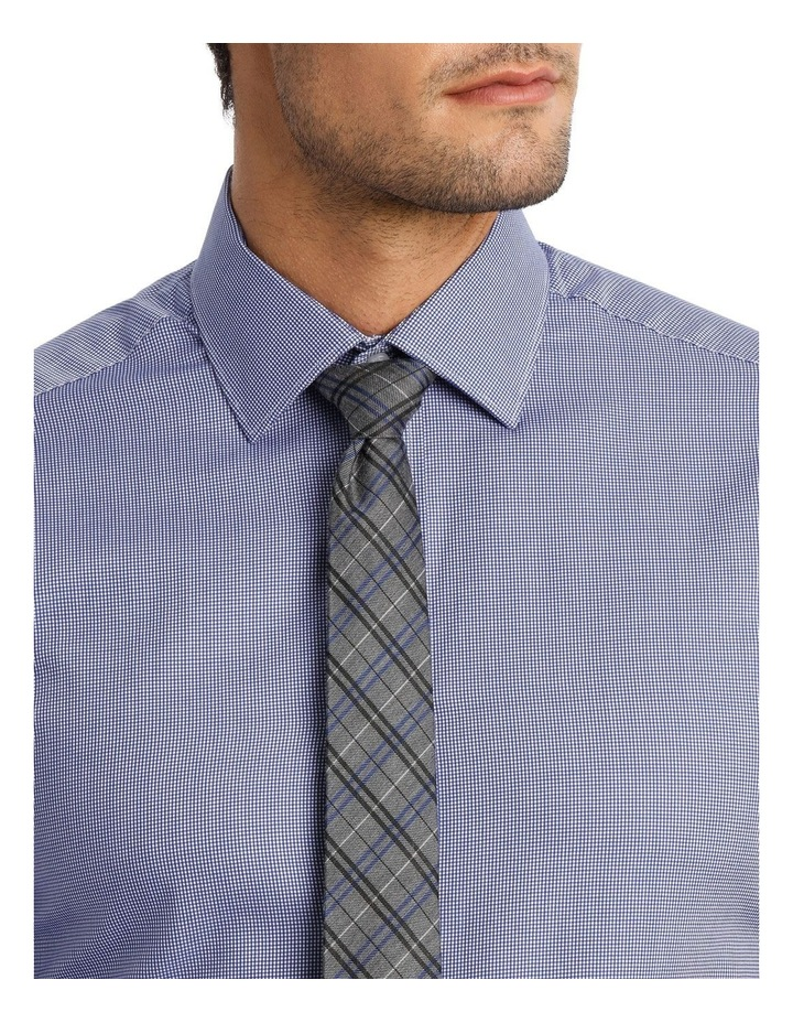 D'arby Micro Check Royal Business Shirt image 4