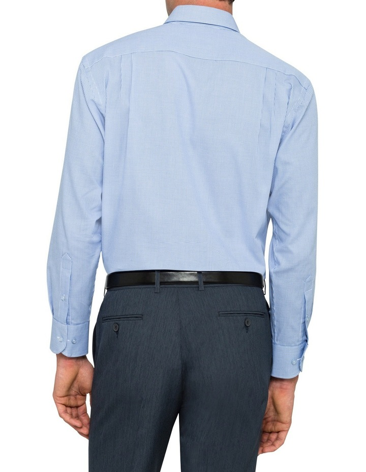 Blue Check Business Shirt image 2