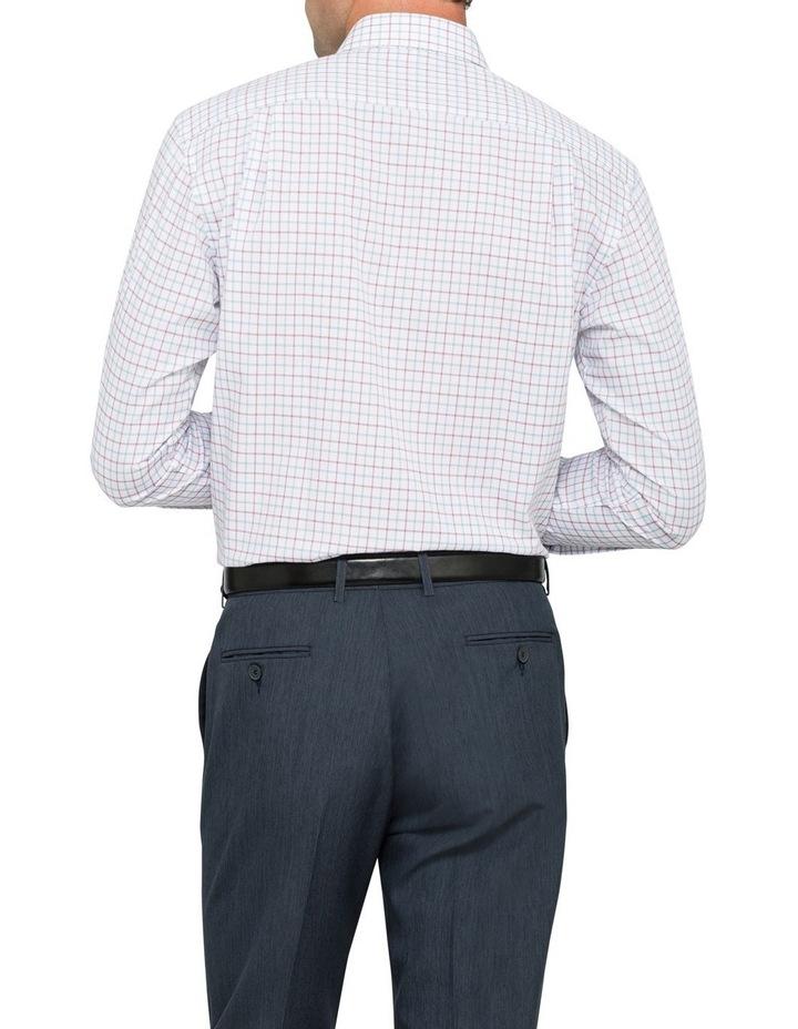 Van Heusen Oxblood Check Business Shirt image 3