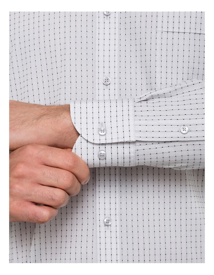 Van Heusen Grey Y/D Dobby Check Business Shirt image 4
