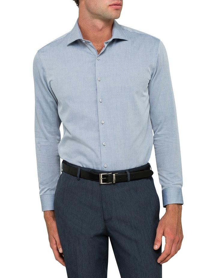 Slim Denim Dobby Business Shirt image 1
