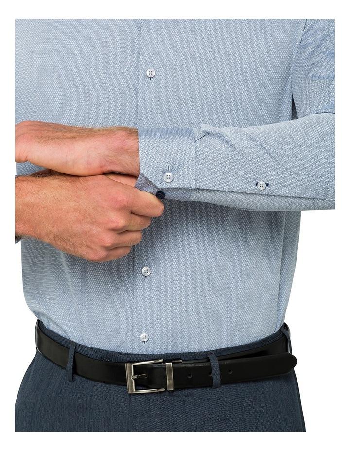 Slim Denim Dobby Business Shirt image 3