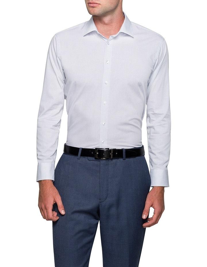 Grape Diagonal Jacquard Business Shirt image 1