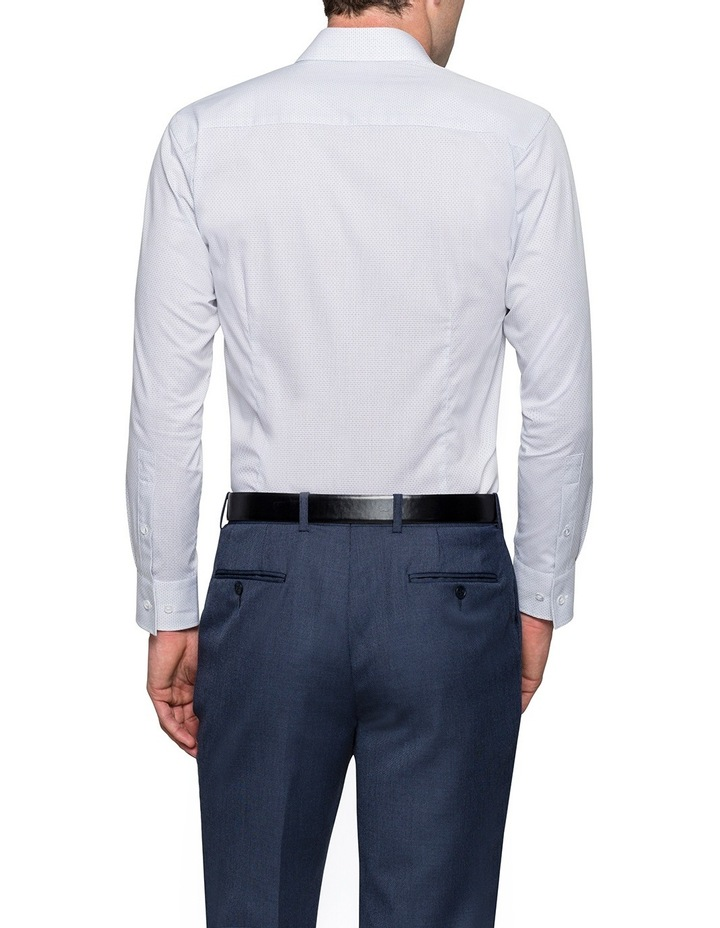 Grape Diagonal Jacquard Business Shirt image 2