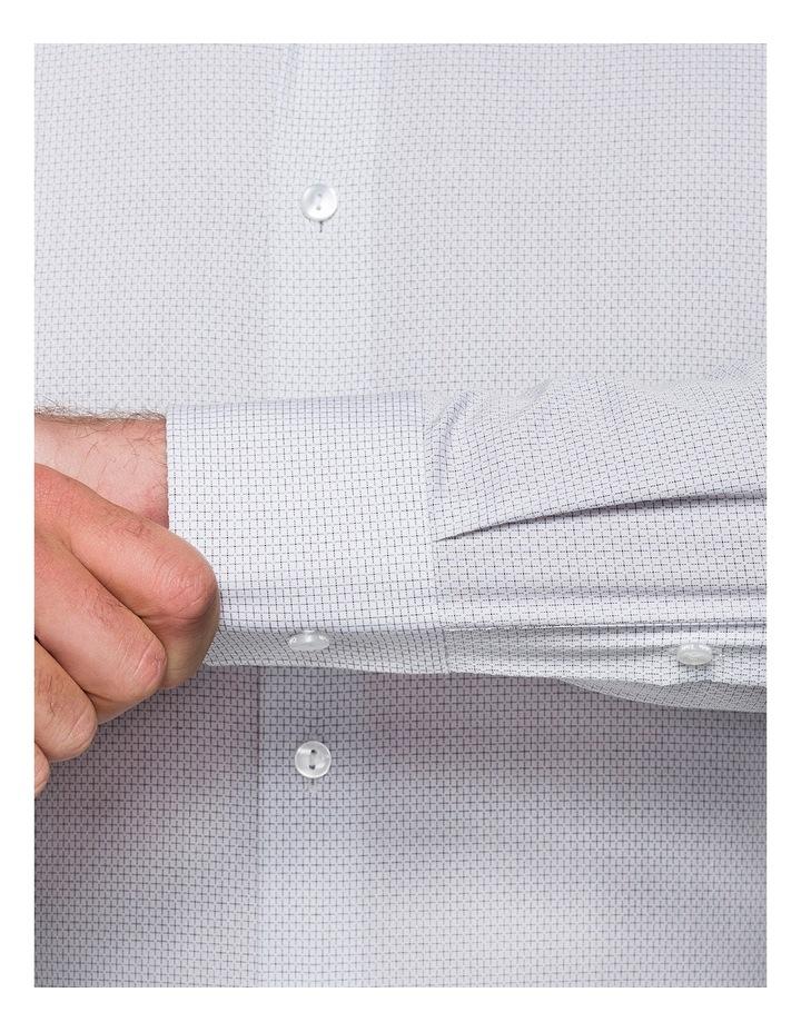 Grape Diagonal Jacquard Business Shirt image 3