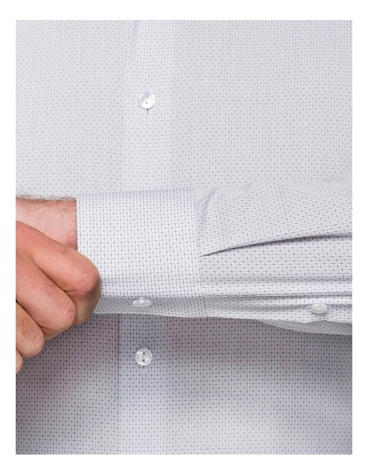 Grape Diagonal Jacquard Business Shirt image 4