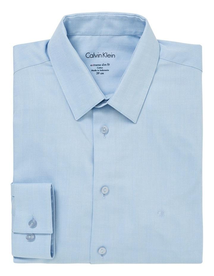 Sky Herringbone Stripe Business Shirt image 1