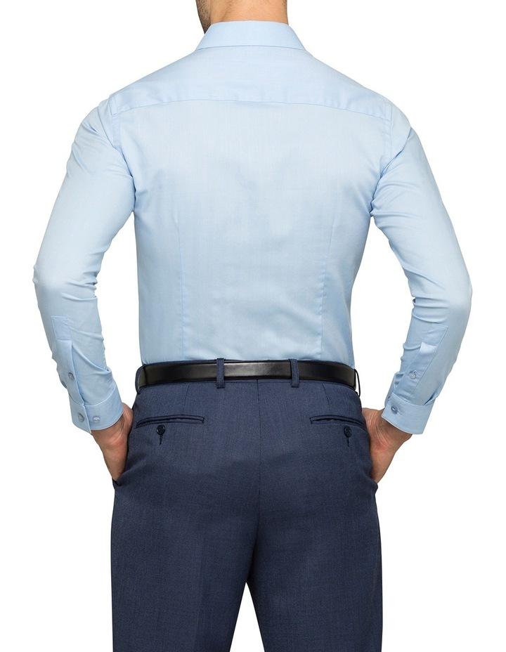 Sky Herringbone Stripe Business Shirt image 3