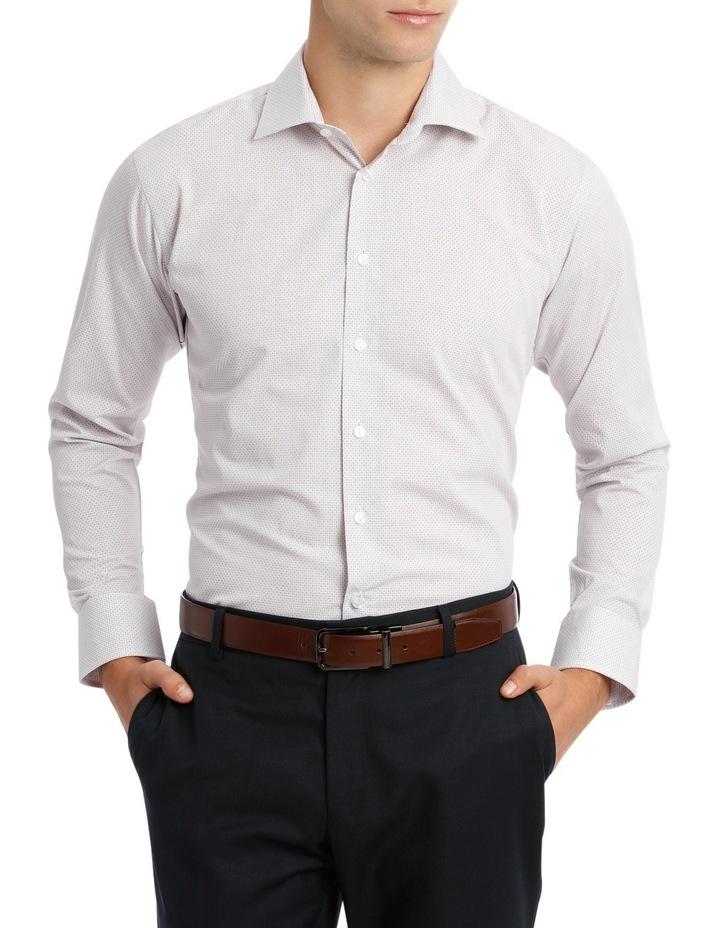 Black Diagonal Jacquard Business Shirt image 1